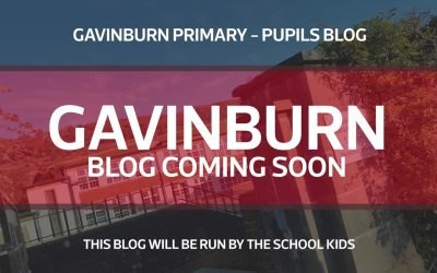 Gavinburn Primary – Pupils Blog – Coming Soon